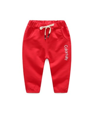 FAB 226 Red Colorfully Training Pants