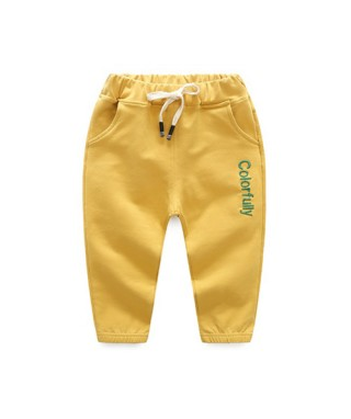 FAB 228 Yellow Colorfully Training Pants