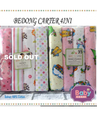 Bedong Carters 4in1 just to you