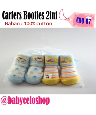 CBO 7 Carter's Booties 2in1 Lion & Monkey
