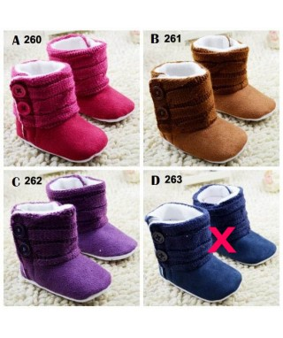 PW 260 261 262 KNITTED BOOTIES