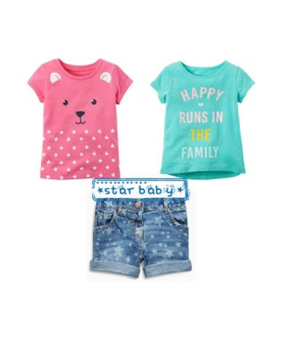 FAG 040 Double Tee Pink and Tosca Pants Set